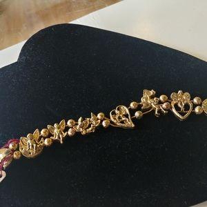 Jewelry - Vintage cupid bracelet